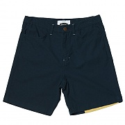 Multi Panel Plain Shorts  (navy)