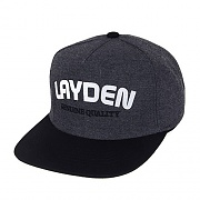 PATCH LOGO SNAPBACK-GRAY