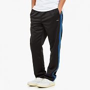 POLY TRACK PANTS-BLACK