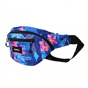 BARREL WAIST BAG 4L-BLUE TROPICAL