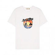 SUNSET TEE-WHITE