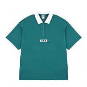 5.B.O COLLAR T-SHIRTS_green