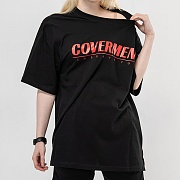 Big Logo Print T-Shirts_Black