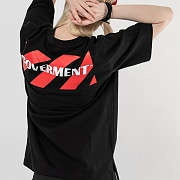Sognature Print T-Shirts_Black