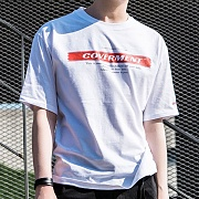 Signature Main Logo Print T-Shirts_White