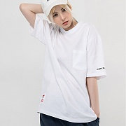 Basic Pocket T-Shirts_White