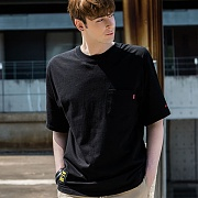Basic Pocket T-Shirts_Black