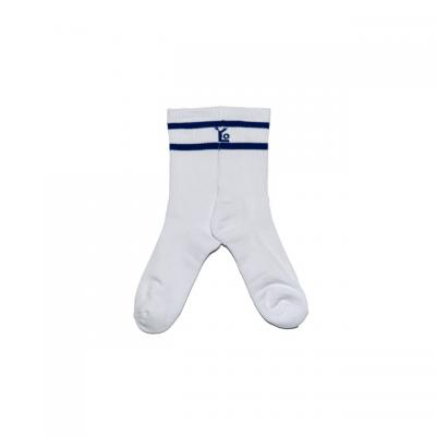 Blue Signature Logo Socks