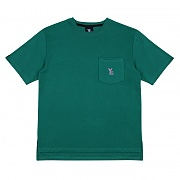 Poket Short Sleeved T-Shirt - Green