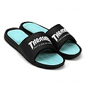 HUF X THRASHER SLIDES-BLK/MINT