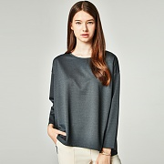 LOOSE FIT BOXY T-SHIRT GRAY