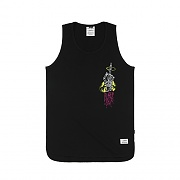 STIGMA BLACK OUT LONG SLEEVELESS BLACK