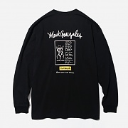 (LT01) COUNTRY JAZZ LONG SLEEVE-BLACK