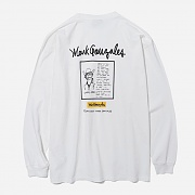 (LT01) COUNTRY JAZZ LONG SLEEVE-WHITE