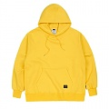 STIGMA BLANK HEAVY SWEAT OVERSIZED HOODIE YELLOW