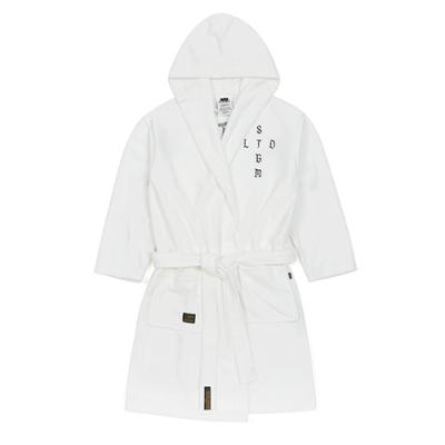 STIGMA VATOS BATH ROBE WHITE