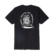 (163081782)OBEY DEATH & DISSENT TEE-BLK