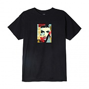 (163081778)OBEY IDEAL POWER TEE-BLK
