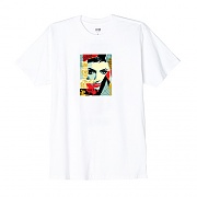 (163081778)OBEY IDEAL POWER TEE-WHT