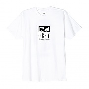 (163081790)OBEY INT. CONSPIRACY TEE-WHT