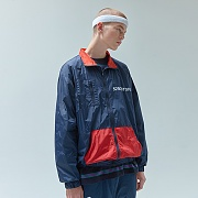 5.B.O WIND JACKET-NAVY