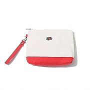 POINT COLOR POUCH RED