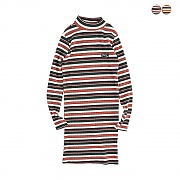 MULTI STRIPE MINI DRESS(2COLOR)(여성용)