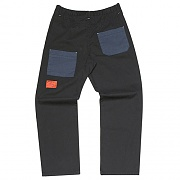 Mix Wide Chino pants _black