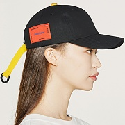 PLASTICATE Logo Ball-cap _black