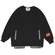 Inside-out Sweat-Shirts _black