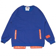 Inside-out Sweat-Shirts _blue