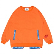 Inside-out Sweat-Shirts _orange