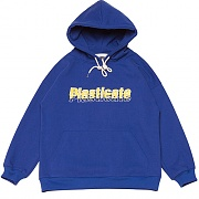 Multi Logo Sweat-Hood _blue