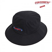 Ball Round Logo Emb Bucket Hat_Black
