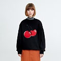 BIG CHERRY SWEATSHIRT HA [BLACK]
