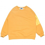 Quilting Patch Sweat-shirts _yellow