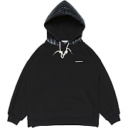 Padding Shell Sweat-Hood _black