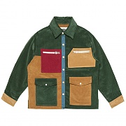 8's Corduroy Panel Mix Jacket _green