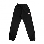 OVAL SWEATPANTS-BLACK