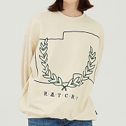 Laurel Crown Sweatshirt_oatmeal