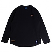 2009 Flag Long Sleeve_navy