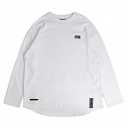 2009 Flag Long Sleeve_white