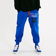 RECORDED JOGGER PANTS_BLUE