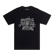 FUCKING AWESOME SUCKS TEE-BLACK