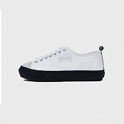 CLUBMAN CANVAS SNEAKERS WHITE/BLACK