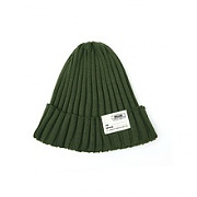 Swellmob cotton short beanie -olive-