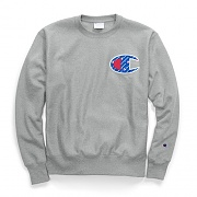 (GF70)RW SUBLIMATED C LOGO CREW-OXFORD GREY
