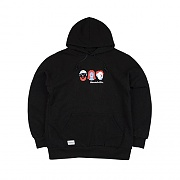 POP WORLD hoody black (양기모)