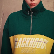 CROSSWISE MOMENT ANORAK GREEN