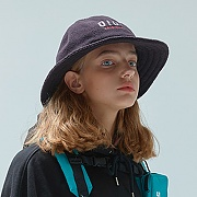 FLEECE BUCKET HAT-BLACK